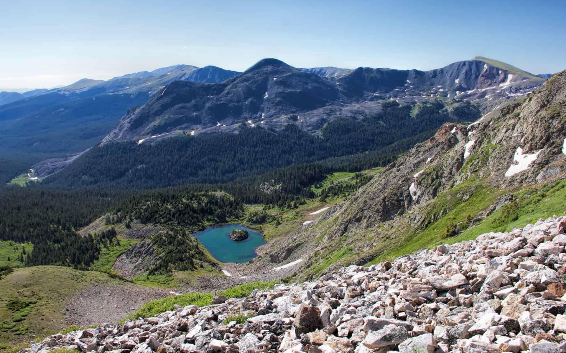 Cottonwood Pass - Lost Lake