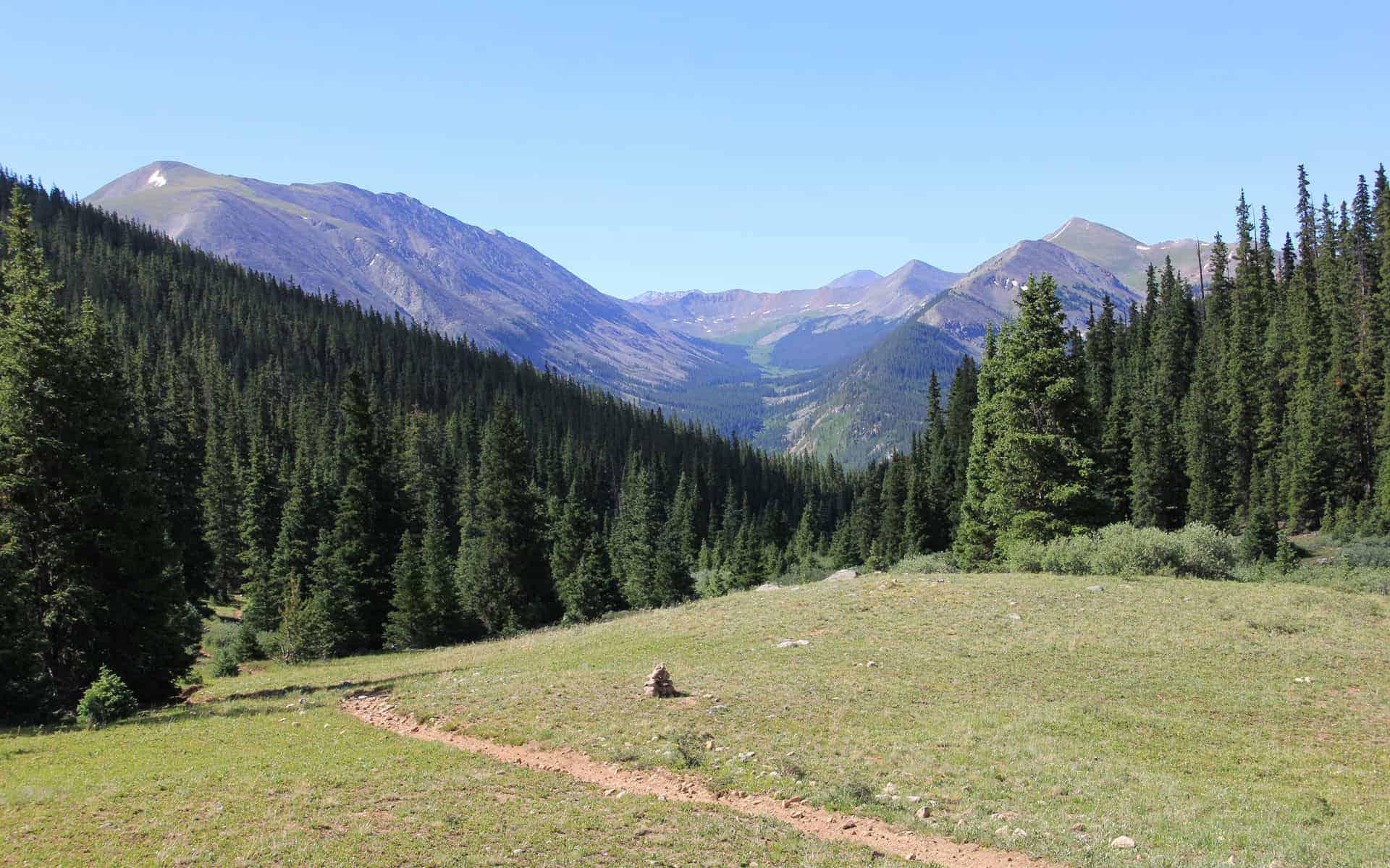 Poplar Gulch Trail, Saint Elmo CO